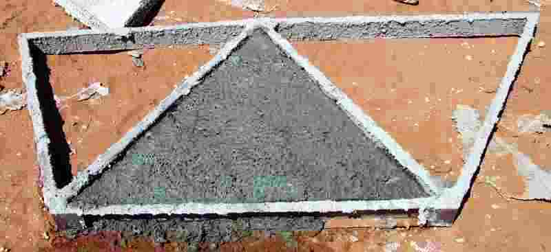 Triangle in the mold.jpg