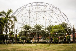 8m Geodesic Mobile Dome Thailand